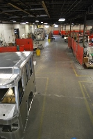Overview of the manufacturing shop floor