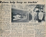 Photo showing an old newspaper article from 1979 detailing how TCM came about. See about page for more details